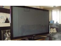 "50"" samsung tv spares or repairs"