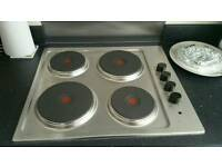Electric stainless hob