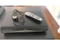 SKY+HD BOX + REMOTE CONTROL + POWER CABLE + VIEWING CARD