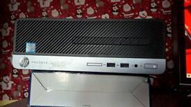 very fast HP Prodesk 400 G6 desktop PC with 7th gen processor