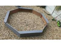 Large Wooden Sandpit by PLUM company, In very good condition.