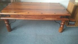 John Lewis coffee table & side tables