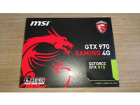 MSI GTX 970 Gaming 4GB Twin Frozr Graphics Card. BNIB and Unused