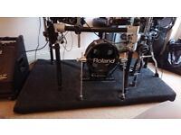 A Handcrafted 1700mm x 900mm Drum Riser and noise eliminator