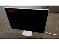 "24"" Apple Cinema Display LED Monitor Built in speakers & iSight Camera"