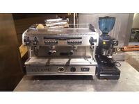 La Spaziali S5 coffee machine + Coffee grinder refurbised