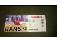 Nfl London Giants V Rams Ticket