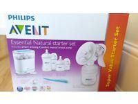 AVENT Manual breast pump & feeding set