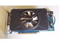 Nvidia GTX 550Ti Graphics Card.