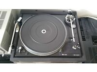 Turntable Record Player DUAL with ORTOFON VMS20E Mk2 Cartridge & Stylus + NEW STYLUS in BOX (unused)