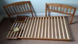 Junior size bedframe
