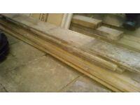 1930's Original Pine Floor Boards