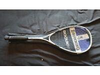 browning big gun titanium squash racket
