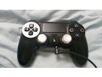 Ps4 controller black (custom sticks)