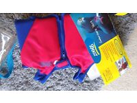 Baby and toddler Swim float jackets, happy nappy