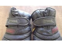 Leather Dynamic Motorcycle Gloves- size XL