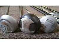 Set of 15 golf clubs