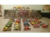 Model motorbike collection