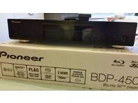 PIONEER BDP 450 BLU RAY PLAYER