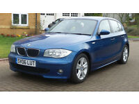 2006 06 BMW 1 SERIES 2.0 120D SE 5d 161 BHP *PART EX WELCOME*FINANCE AVAILABLE*WARRANTY*
