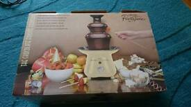 Chocolate fondue fountain unused