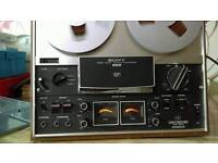 SONY TCS REEL TO REEL 4 TRACK TAPE DECK