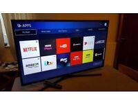 SAMSUNG 40INCH 4K ULTRA HD/LED SMART WIFI TV