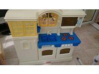 Large little tikes kitchen. Toys