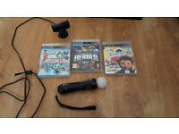 Ps3 move with games works with ps4 psvr ps eye