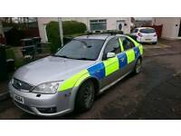 Ford mondeo Ex police car