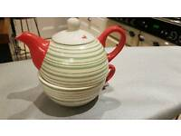 Quirky Tea pot and cup
