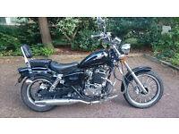 AJ's 125cc ,Learners bike, Chopper Style, Black
