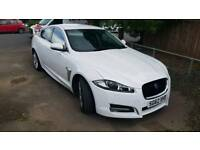 Jaguar XF Luxury White