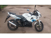 Lexmoto Xtrs 125 13 Plate - whole bike for spares / repairs