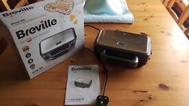 Breville Deep Fill Two Slice Sandwich Toaster, as new condition