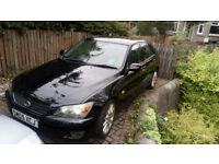 Lexus IS200se, '05, 122147 miles, 2.0l petrol, MOT Feb '19, 168bhp