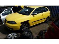 2005 SEAT IBIZA FR TDI FULL CAR BREAKING