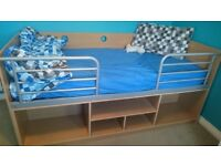 Full Sized Single Wooden Bed frame