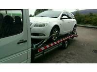 Car transportation and recovery towing service collection