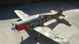 Large RC FW 190 For Sale