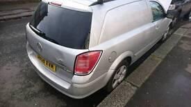 2008 astravan sportive spares or repair