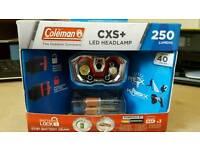 Coleman CXS 250 LUMENS HEADLAMP BNIB