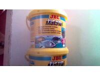 JBL NOVO MALAWI 5.5l bucket - 38% SPIRULINA - LATEST 3 buckets - Ł 20 each.