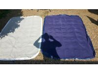 Double camping mattress/airbed x2