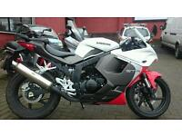2016 Hyosung GT125R, immaculate, only 368 miles #Save £600#