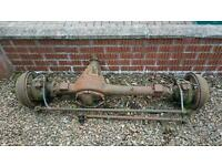 Land Rover Series 3 front axle