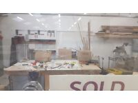 STORAGE OR CABINET MAKER SPACE AVAILABLE 400 SQFT FULLY SERVICED