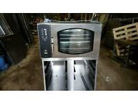 Bakery equipment. Mono BX bake off oven.