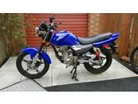 Motorcycle Moto Roma SK125