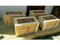 Wooden planter box for sale